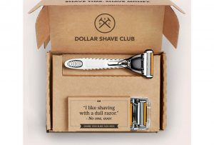 Dollar shave club leading Men's grooming sector
