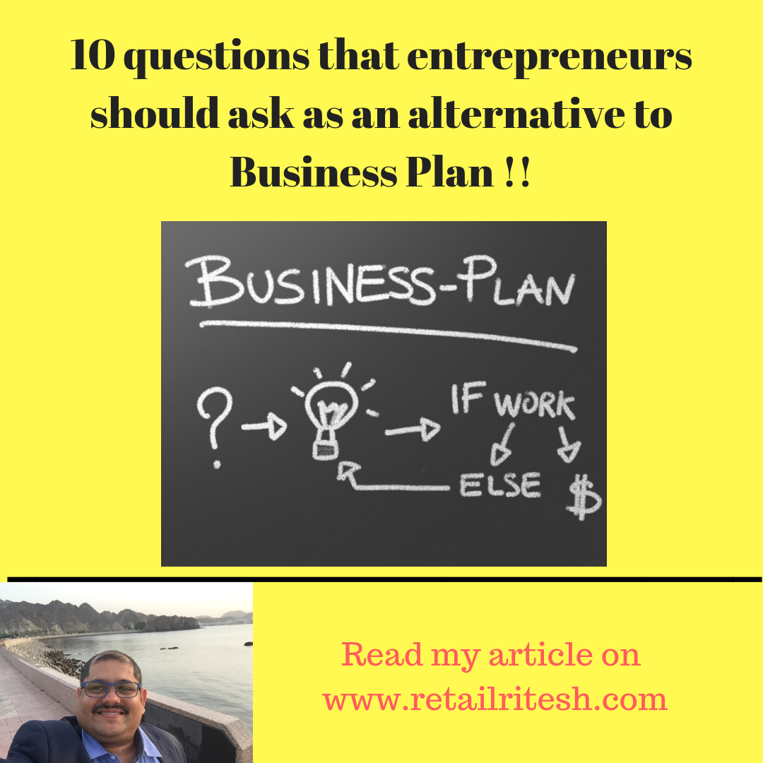 Business Plan for entrepreneurs