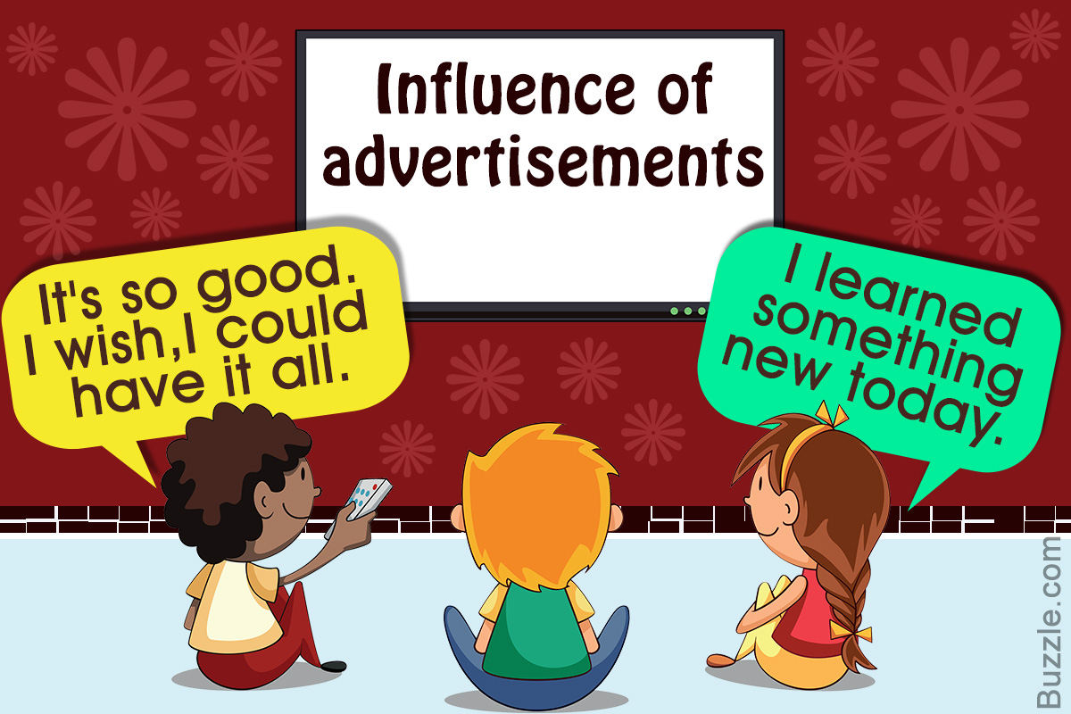 How advertising influence consumer's habits?