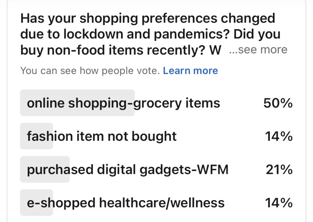 consumers' preferences & buying behaviors during covid19
